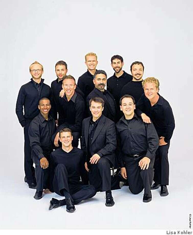 the men's chorus Chanticleer Photo: Lisa Kohler