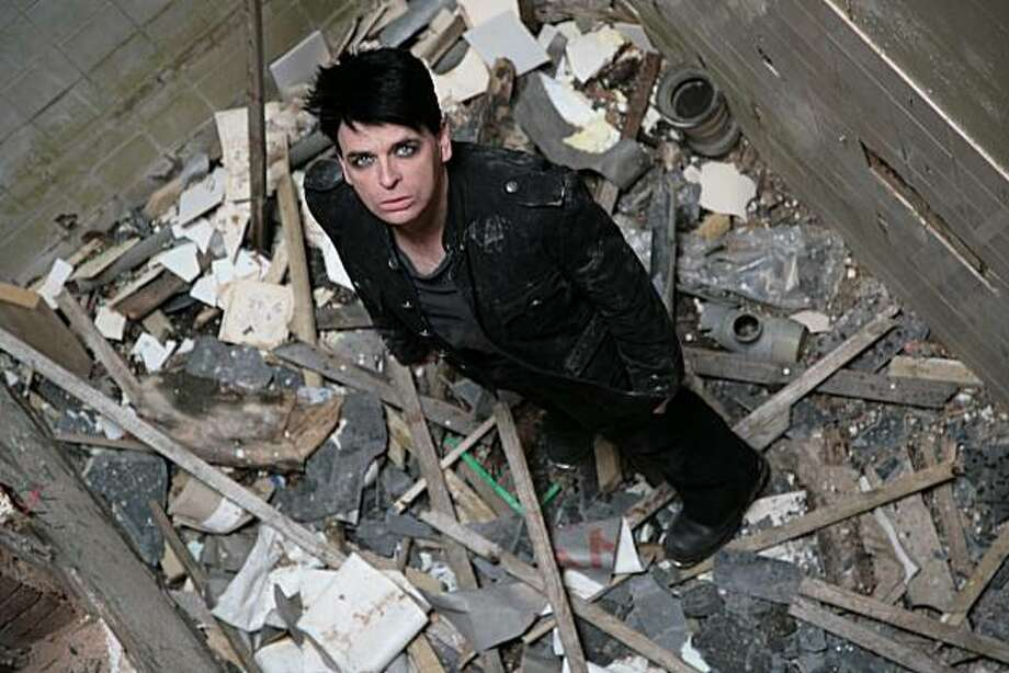 Gary Numan: Could use those 'Cars' royalties on a good housekeeper. Photo: Ed Fielding