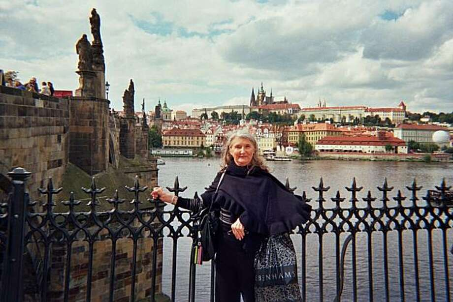 Dagmar Zidek of Petaluma in Prague, Czech Republic Photo: *