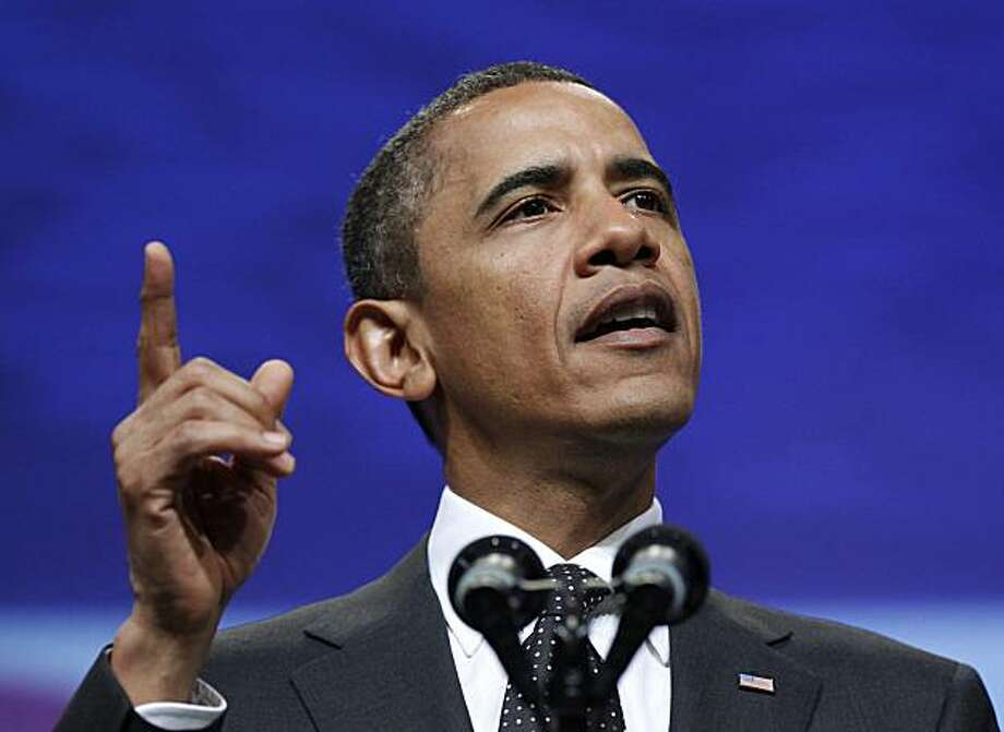 FILE - In this July 29, 2010 file photo, President Barack Obama addresses the National Urban League 100th Anniversary Convention in Washington. Photo: Pablo Martinez Monsivais, AP