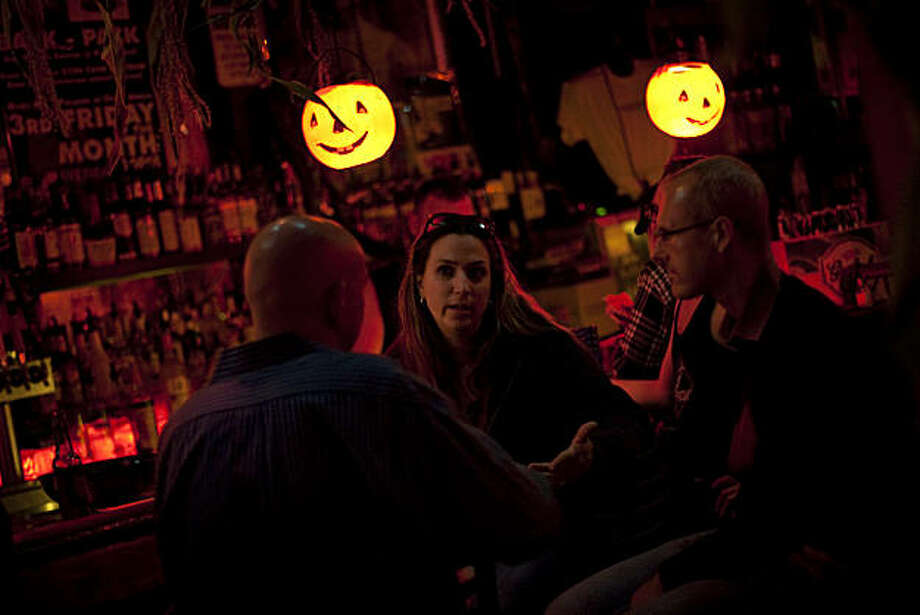 "The Powerhouse bar on Folsom Street, which is having a ""Children of the Corn"" theme for Halloween, is an alternative to the former Halloween party in the Castro neighborhood. Photo: David Paul Morris, Special To The Chronicle"