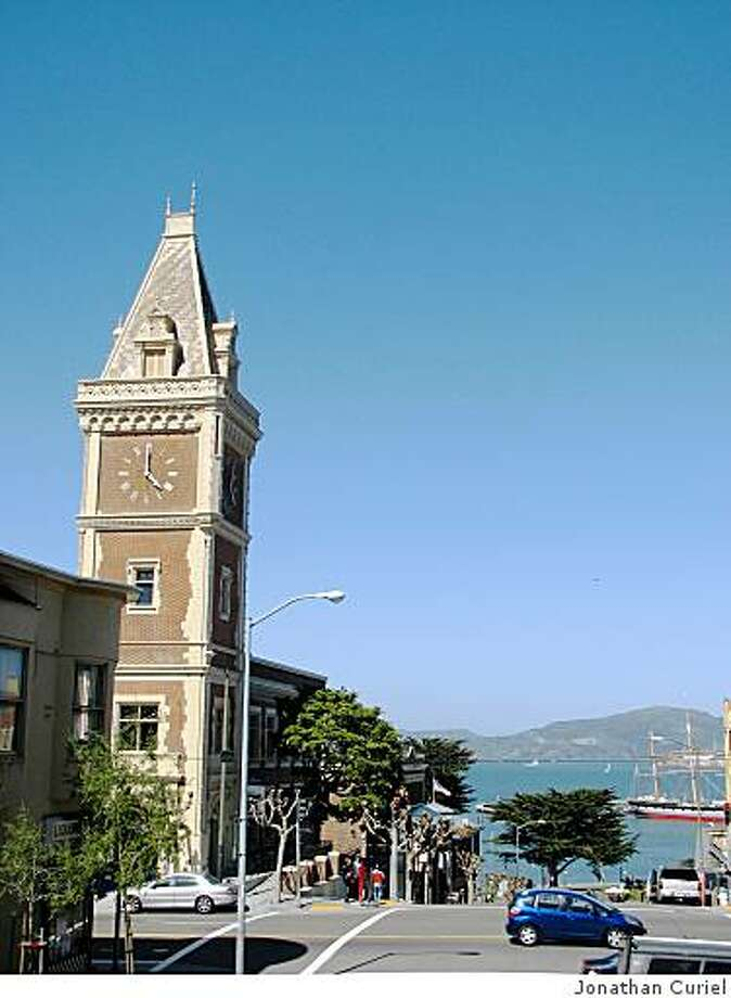 the clock tower at ghirardelli square Photo: Jonathan Curiel