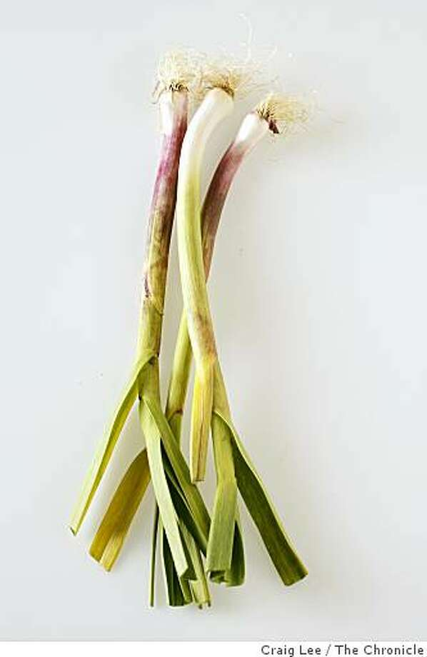 Green garlic in San Francisco, Calif., on March 11, 2009. Photo: Craig Lee, The Chronicle