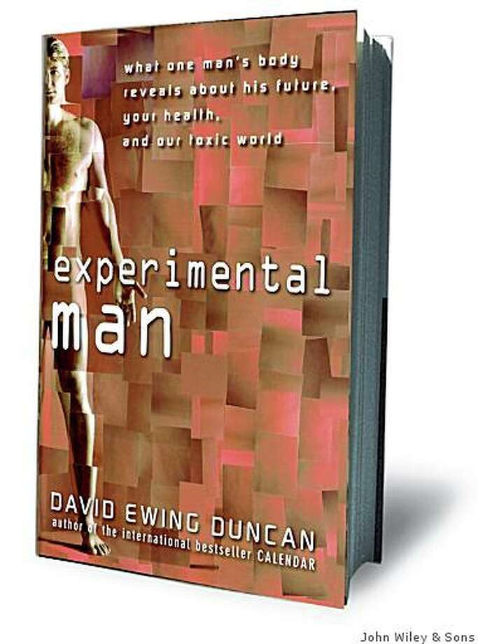 """Experimental Man"" by David Ewing Duncan is about a man who gets many genetic and medical tests on himself. Photo: John Wiley & Sons"