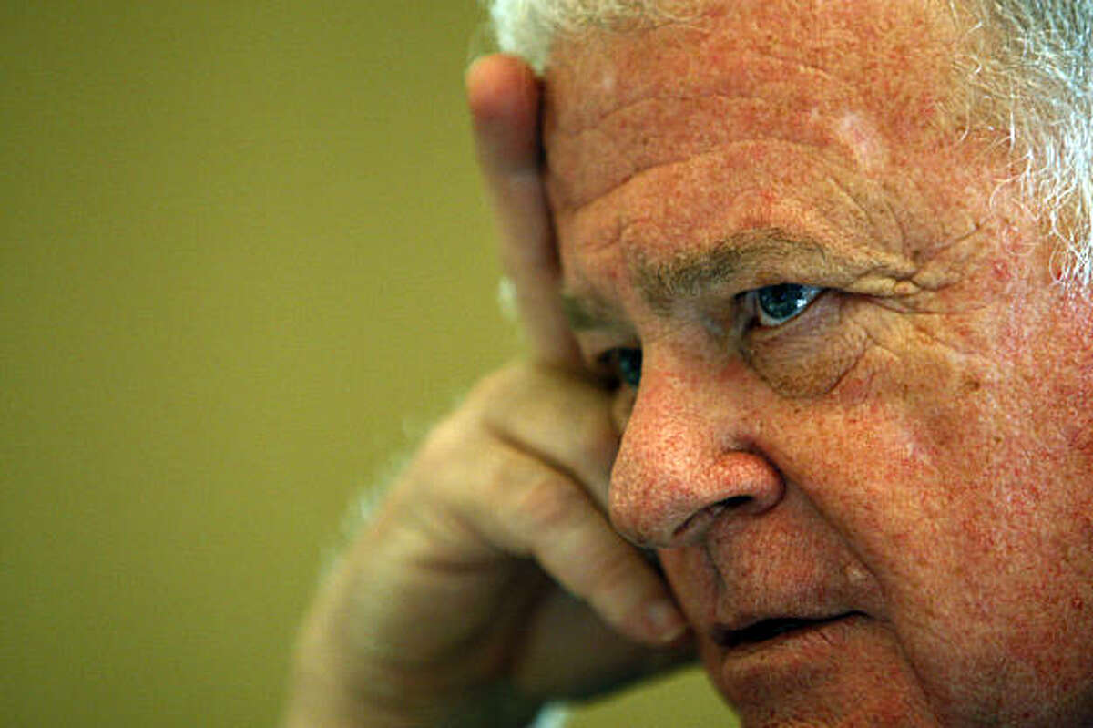 Don Perata reflects on his political career Thursday Nov 20, 2008. The former high school government teacher from Alameda, who rose to become one of the most powerful politicians in the state, will be stepping down as the leader of the California State Senate next week due to term limits.