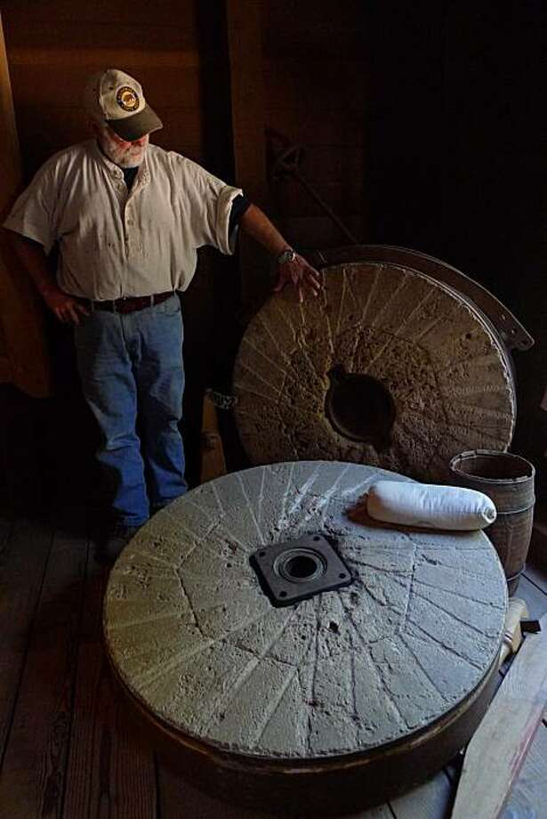 gristmill Photo: Spud Hilton, The Chronicle