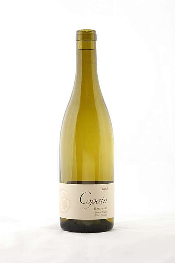 2008 Copain James Berry Paso Robles Roussanne as seen in San Francisco, Calif., on October 26, 2010. Photo: Craig Lee, Special To The Chronicle