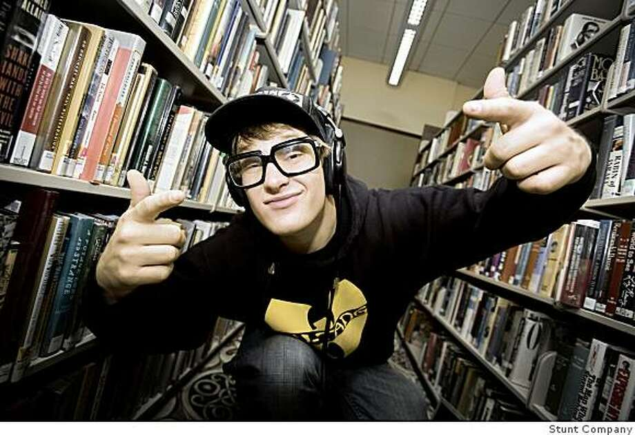 MC Lars, a Stanford educated rapper, appears at Amoeba Music, San Francisco on Thursday, Mar 12 6:00p Photo: Stunt Company