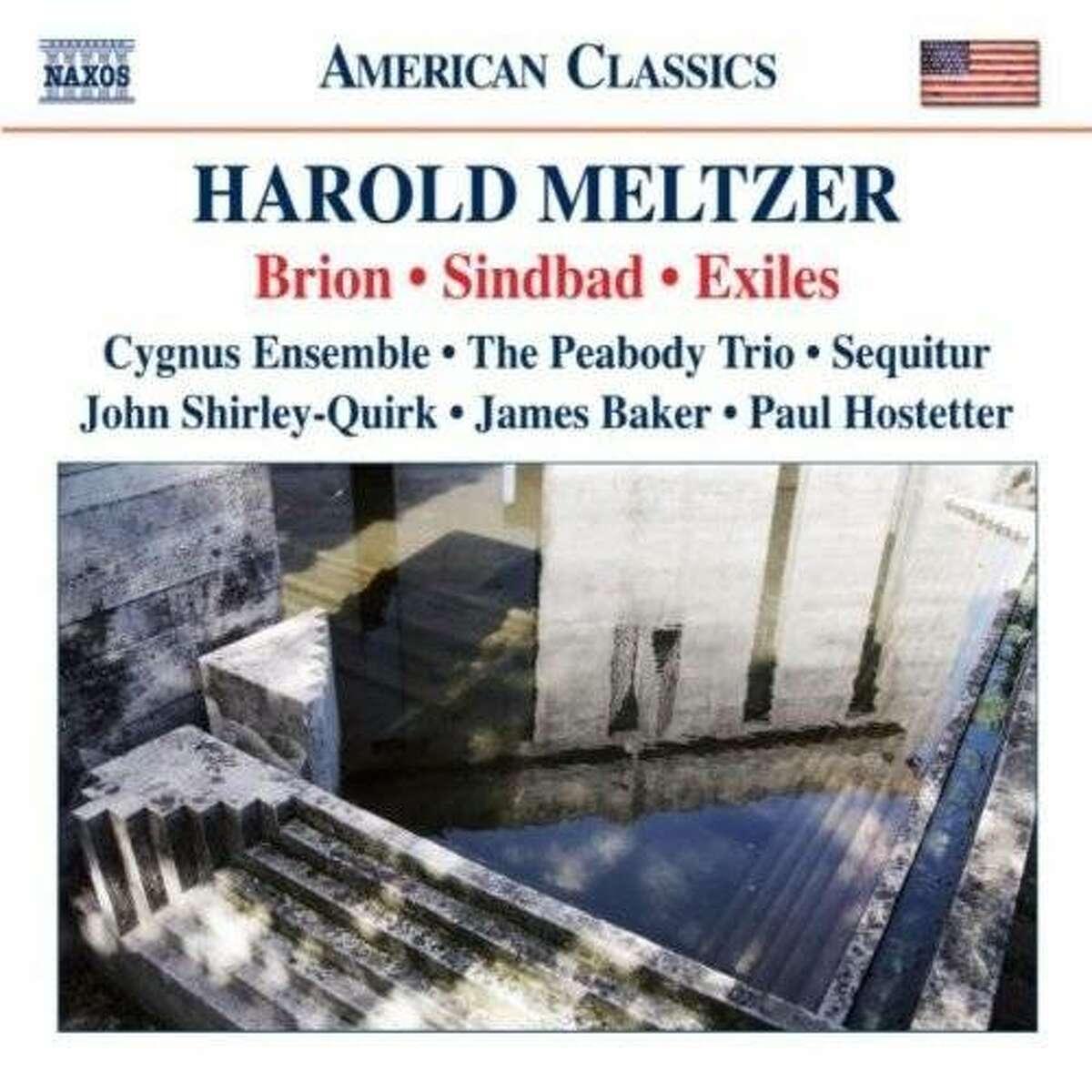 CD cover:Harold Meltzer