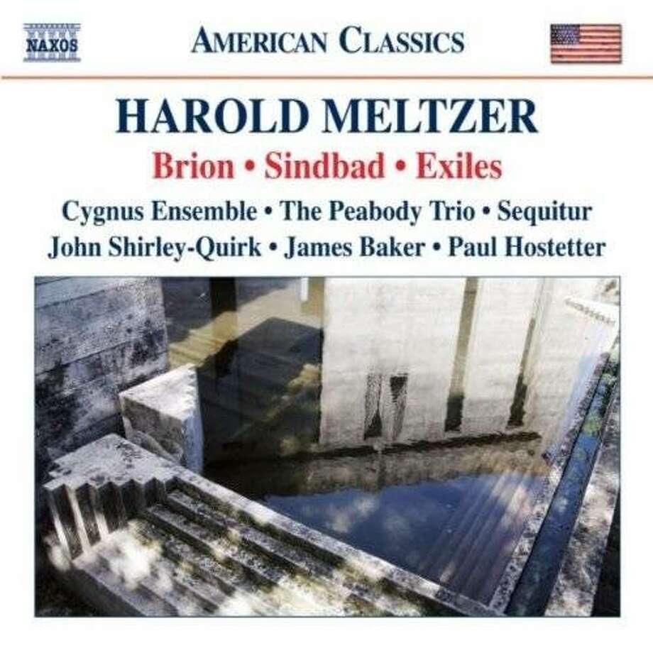 CD cover:Harold Meltzer Photo: Naxos