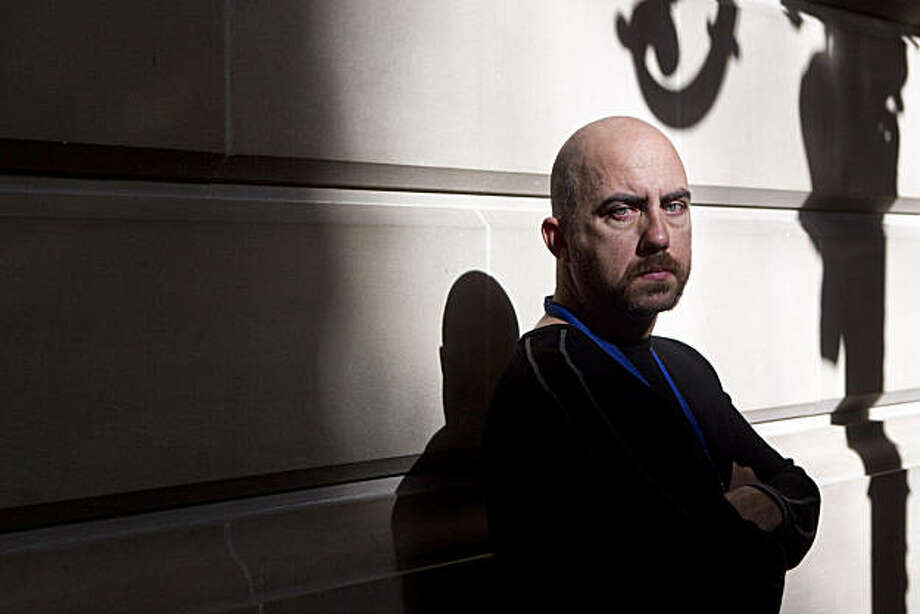Ron Davis, a 911 dispatcher in San Francisco, poses for a portrait at City Hall in San Francisco, Calif., on Tuesday, October 26, 2010. Photo: Laura Morton, Special To The Chronicle