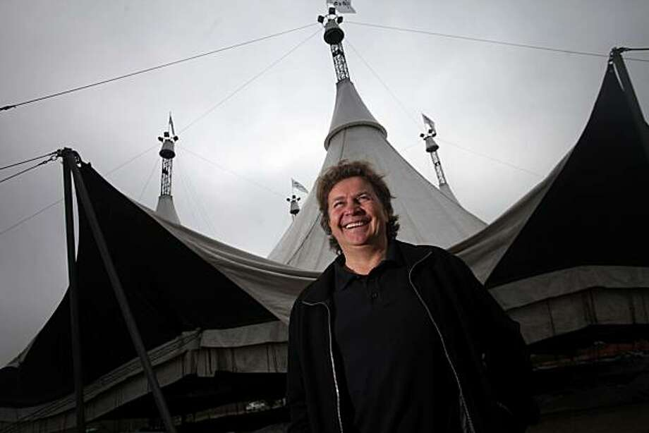 Normand Latourelle, artistic director for Cavalia, stands for a portrait at their newest show location at 4th and China Basin on Tuesday Oct. 19, 2010 in San Francisco, Calif. Photo: Mike Kepka, The Chronicle