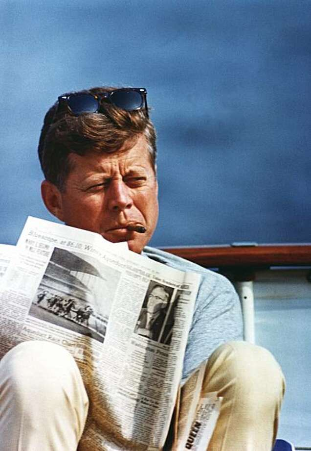 """Virtual JFK,"" a film exploring how President John F. Kennedy (pictured) might have handled the crisis in Vietnam had he not been assassinated, opens March 20 at the Red Vic in San Francisco. Photo: Cecil Stoughton, JFK Library Foundation, Boston"