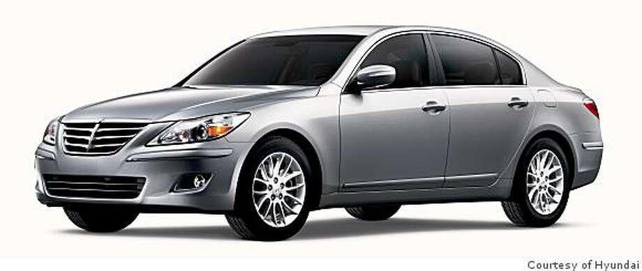 2009 Hyundai Genesis 4.6 Photo: Courtesy Of Hyundai