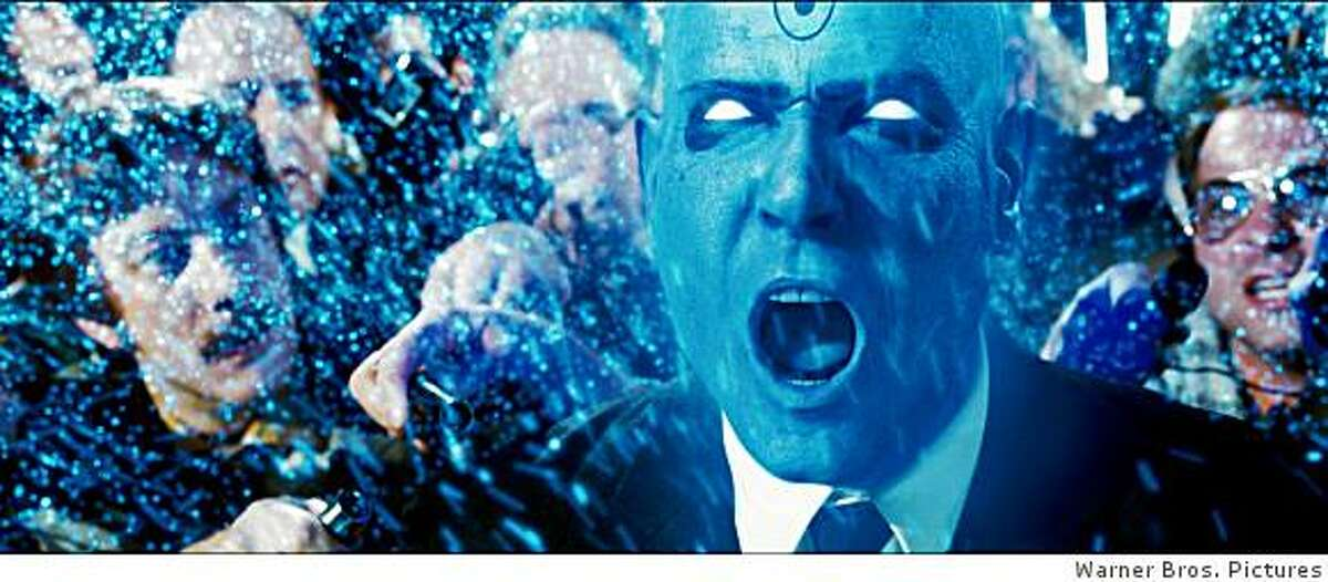 """BILLY CRUDUP as Dr. Manhattan in Warner Bros. Pictures', Paramount Pictures' and Legendary Pictures' action adventure """"Watchmen,"""" distributed by Warner Bros."""