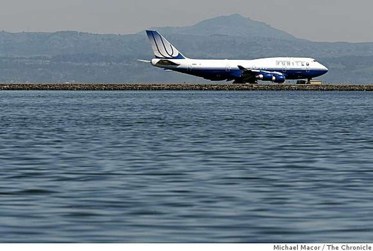 The runways at San Francisco International Airport may well be under water by the end of this century as the ocean is expected to rise nearly five feet along California's coastline, according to a report to the state released on Wednesday Mar. 11, 2009.