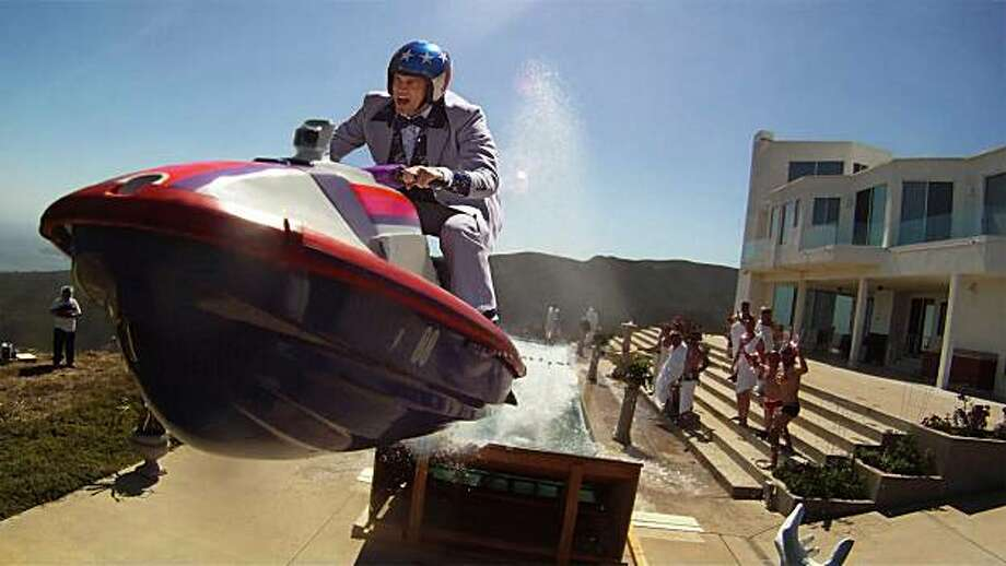 "Johnny Knoxville in a scene from ""Jackass 3D."" Photo: AP"
