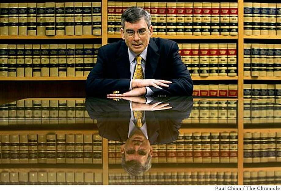Attorney Gary Reback sits in his law firm's offices in Palo Alto, Calif., on Tuesday, March 3, 2009. Reback, an antitrust lawyer, sought Justice Department protection for Netscape from Microsoft Corporation's Internet Explorer web browser a decade ago. Photo: Paul Chinn, The Chronicle