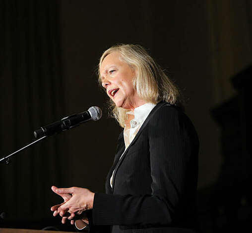 Gubernatorial candidates Jerry Brown and Meg Whitman faced off in a debate at Dominican University in San Rafael, Calif., on Tuesday, October 12, 2010. Photo: Carlos Avila Gonzalez, The Chronicle