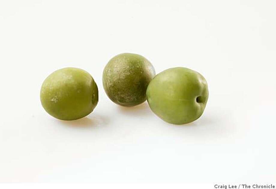 Castelveltrano olives in San Francisco, Calif., on February 19, 2009. Photo: Craig Lee, The Chronicle