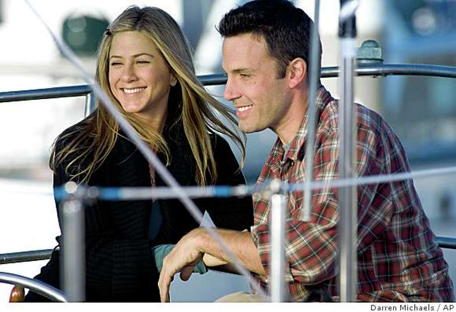 Jennifer Aniston and Ben Affleck play a couple, but he's just not that into getting married. Photo: Darren Michaels, AP