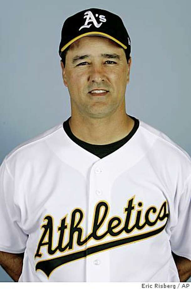 In this 2008 file photo, Don Wakamatsu of the Oakland A's baseball team poses. Oakland bench coach Don Wakamatsu will be named the new manager of the Seattle Mariners. A source familiar with Wakamatsu and the Mariners' search for their 13th full-time manager said Tuesday, Nov. 18, 2008 that Wakamatsu is the choice.  (AP Photo/Eric Risberg, File) Photo: Eric Risberg, AP