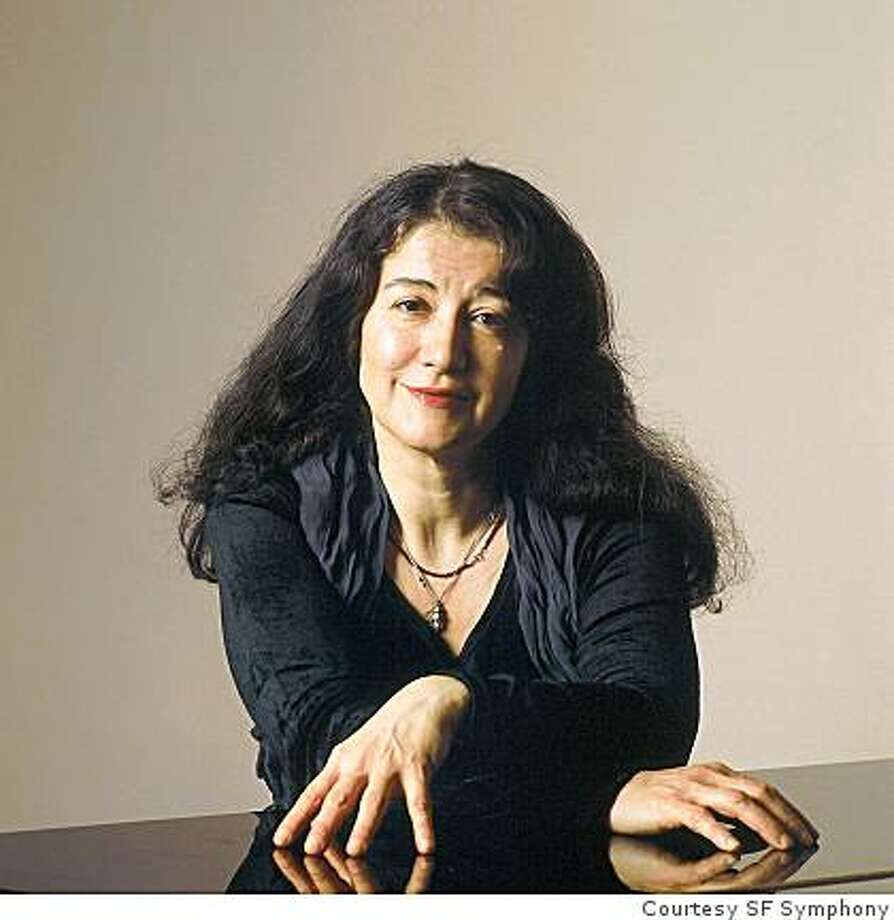 Pianist Martha Argerich Photo: Courtesy SF Symphony