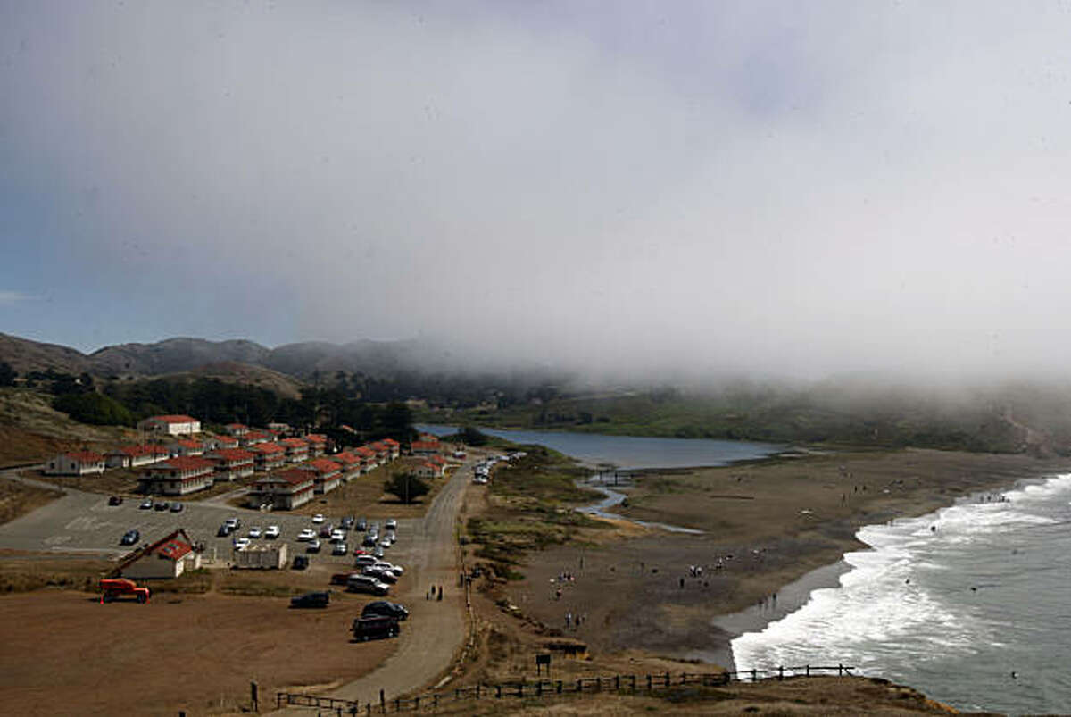 Fort Cronkhite, Rodeo Lagoon, and Rodeo Beach in the Marin Headlands in Sausalito, Calif., on Monday, August 10, 2009.