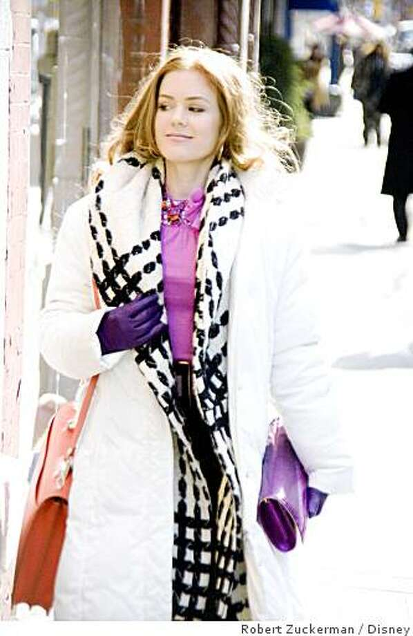 "Isla Fisher dressed by Patricia Field, in ""Confessions of a Shopaholic.''""CONFESSIONS OF A SHOPAHOLIC""Isla FisherPh: Robert Zuckerman� Touchstone Pictures and Jerry Bruckheimer, Inc.  All Rights Reserved. Photo: Robert Zuckerman, Disney"
