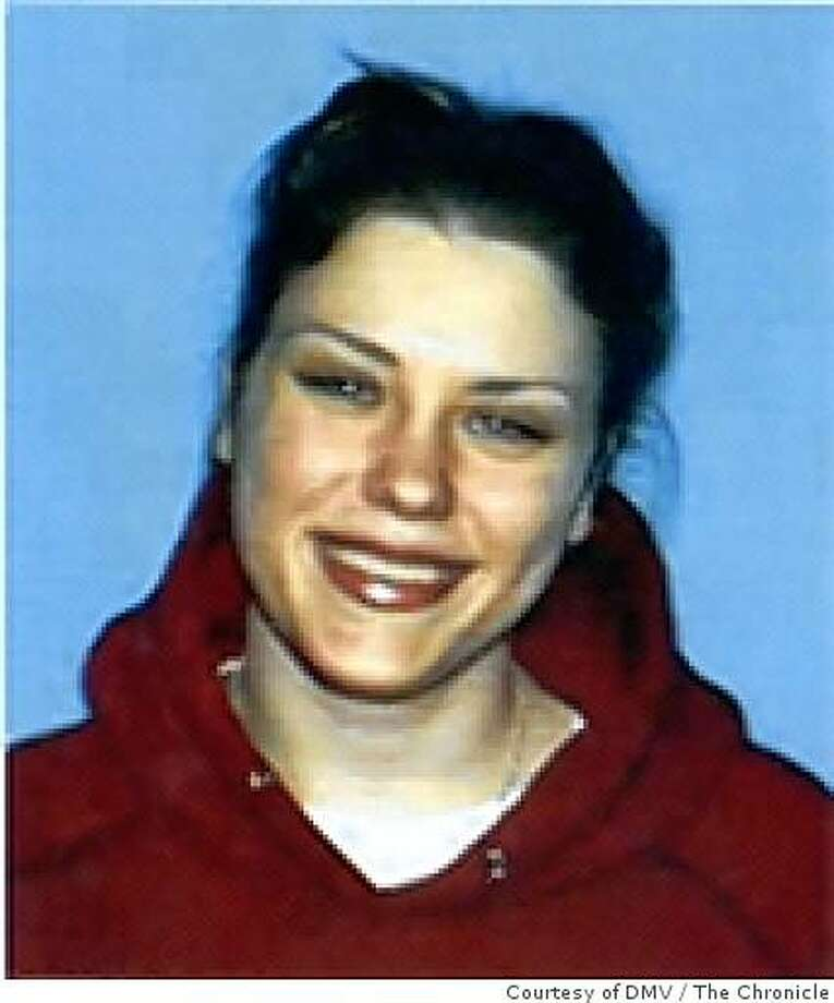 DMV photo of Anastasia Melnitchenko.Photo: Courtesy of DMVRan on: 10-26-2005Anastasia Melnitchenko was repeatedly threatened, stalked and attacked by Scott McAlpin. Photo: Courtesy Of DMV, The Chronicle