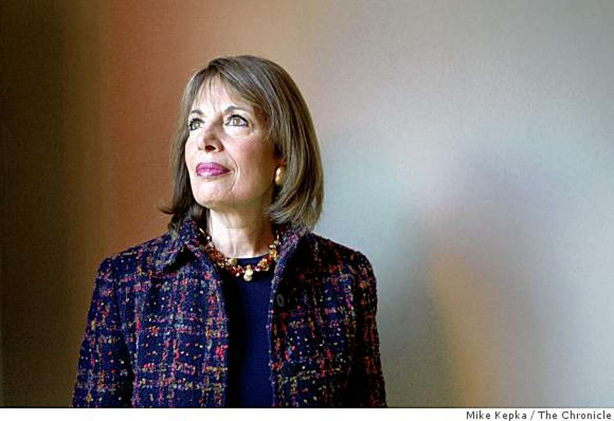 Congresswoman Jackie Speier poses for a portrait on Nov. 14, 2008 in San Francisco, Calif. Thirty years ago Speier was shot five times while leaving Guyana as part of Congressman Leo J. Ryan's delegation to investigate Jonestown.