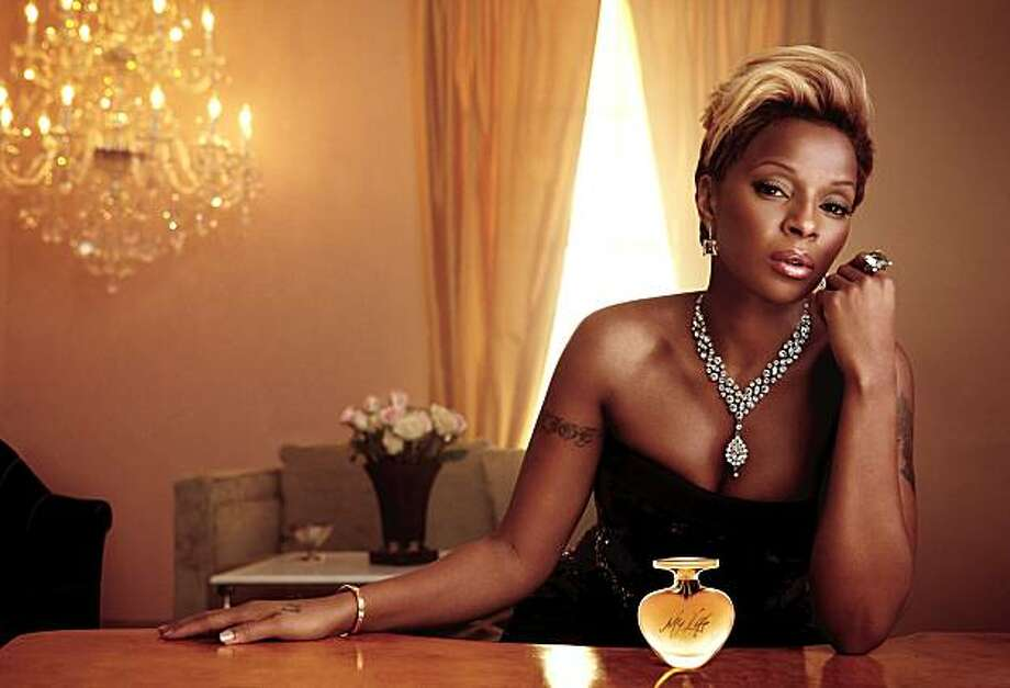 Mary J. Blige savors the sweet smell of success. Photo: Hsn