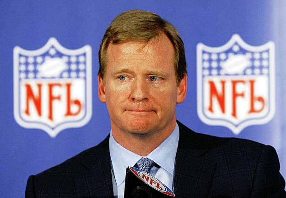 NFL Commissioner Roger Goodell Photo: Ross D. Franklin, AP
