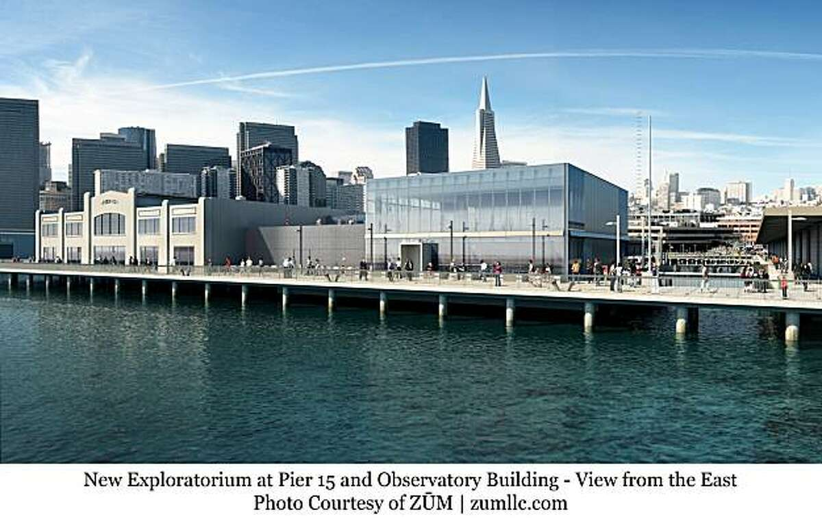 The new Exploratorium on the Bay will include the restoration of Pier 15 and the addition of a two-story observatory building as well as two acres of public space along the water. The architect for the project is EHDD