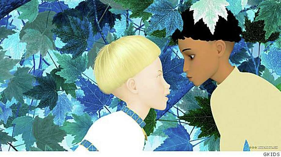 "The animated French film ""Azur et Asmar."" Photo: GKIDS"