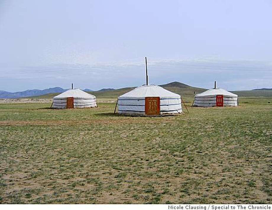 Elstei Ger Camp, about an hour outside of Ulaanbaatar, Mongolia. Photo: Nicole Clausing, Special To The Chronicle