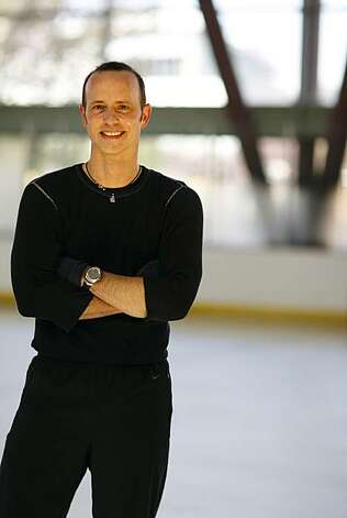 Brian Boitano poses after practicing at the Yerba Buena Ice Rink on Friday November 9, 2007. Boitano will be performing in an ice show that will feature Barry Manilow singing live at the Giant's ballpark in San Francisco on December 5. Photo: Jakub Mosur, The Chronicle