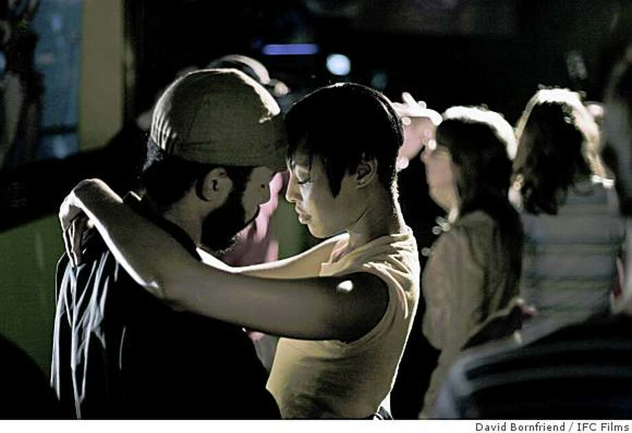 Wyatt Cenac as Micah and Tracey Heggins as Jo in MEDICINE FOR MELENCHOLY Directed by Photo: David Bornfriend, IFC Films