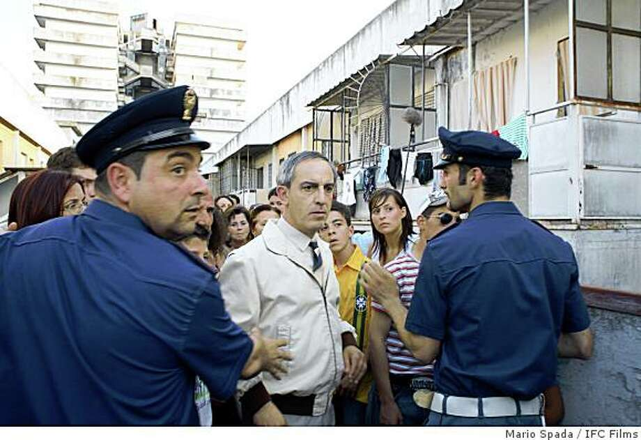 "Gianfelice Imparato as Don Ciro in a scene from ""Gomorrah,"" directed by Matteo Garrone. Photo: Mario Spada, IFC Films"