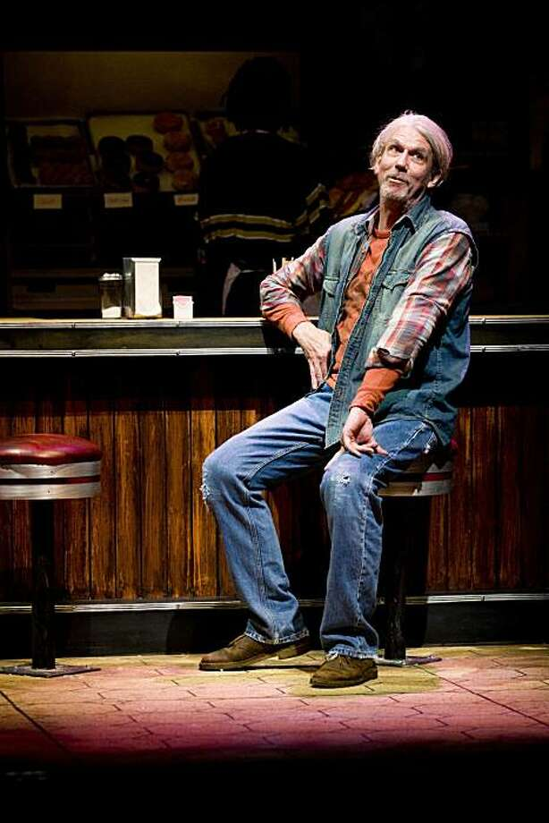"Howard Swain plays Arthur, the stagnating owner of an old donut shop in TheatreWorks' regional premiere of Tracy Letts' ""Superior Donuts"" Photo: Mark Kitaoka"