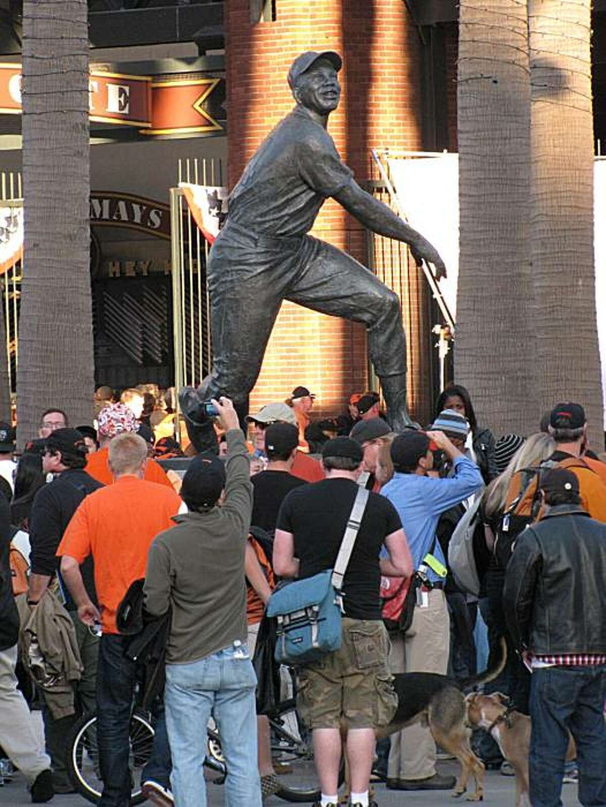 Willie Mays Plaza isn't just home to Giants fever, it's a solid work of urban design