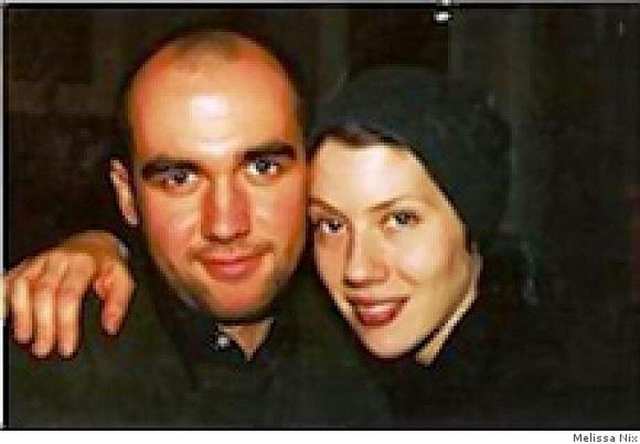 Homicide victim Hughues de la Plaza and with Melissa Nix in an undated photo. Photo: Melissa Nix