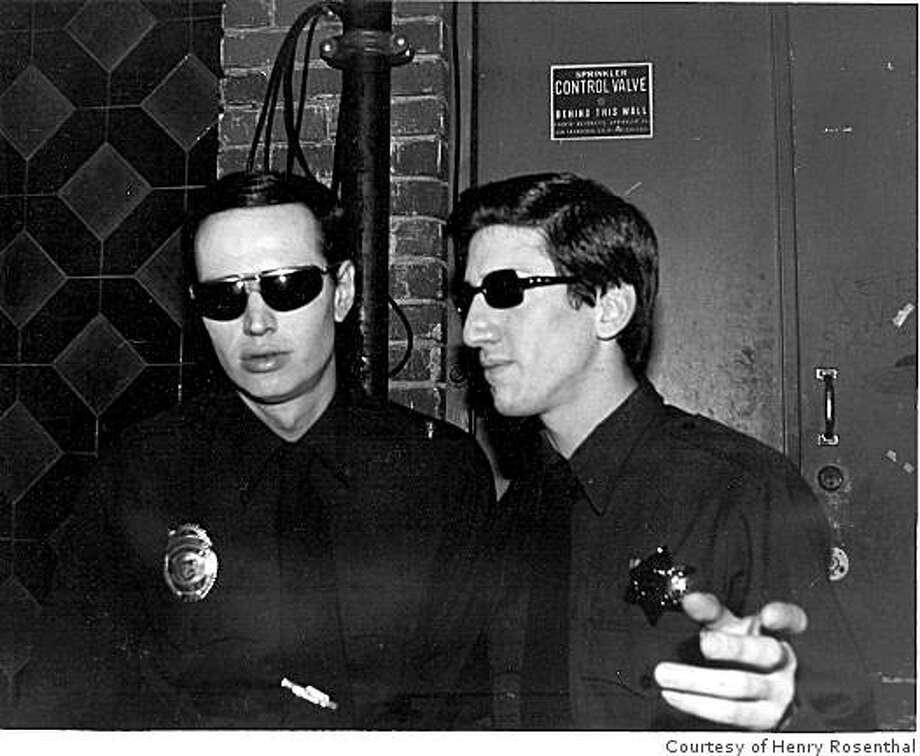 Johnny Strike (left) and Hank Rank (right), of CRIME Photo: Roberto Morrison 1978, Courtesy Of Henry Rosenthal