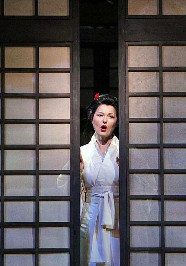 "Svetla Vassileva (Cio-Cio-San) stars in San Francisco Opera's production of, ""Madama Butterfly."" Photo: Cory Weaver, SF Opera"
