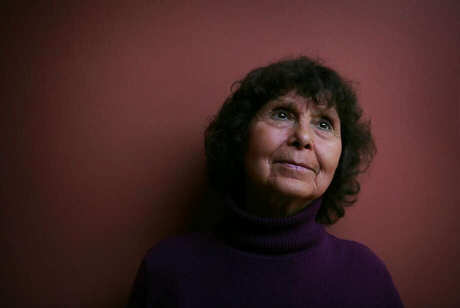 Sofia Gubaidulina, a guest composer for the San Francisco Symphony from Russia, stands for a portrait at Davies Symphony Hall on Tuesday Feb. 17, 2009 in San Francisco, Calif. Photo: Mike Kepka, The Chronicle