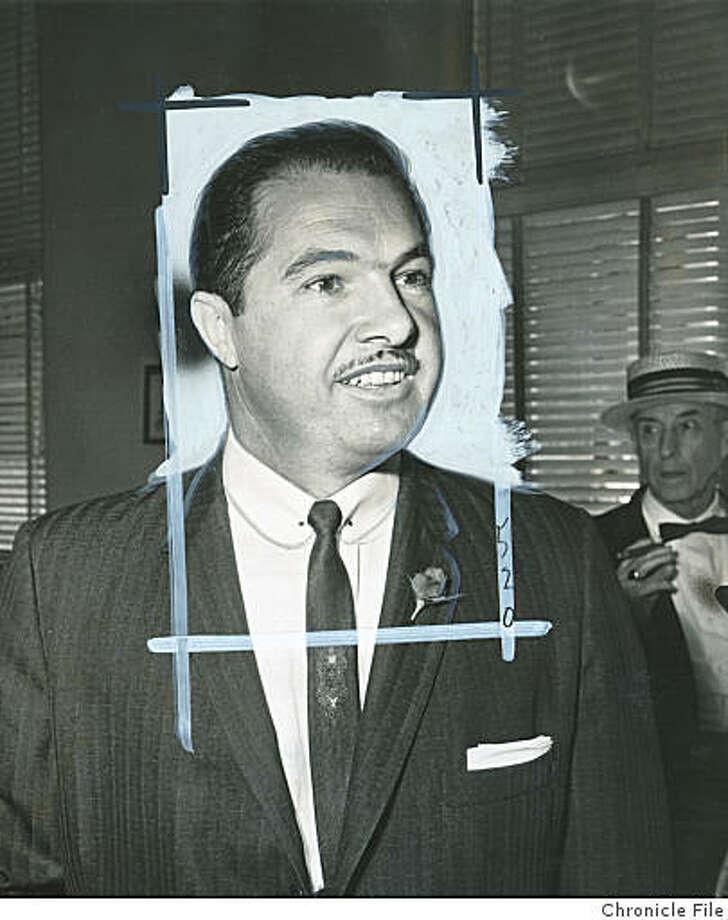 Giorgetti_obit.jpg Leo Giorgetti in 1962./credit} Photo: Chronicle File