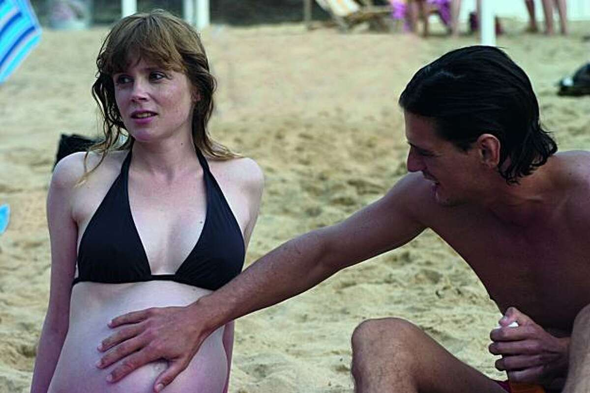 """Isabelle Carre as Mousse and Louis-Ronan Choisy as Paul in """"Hideaway"""""""