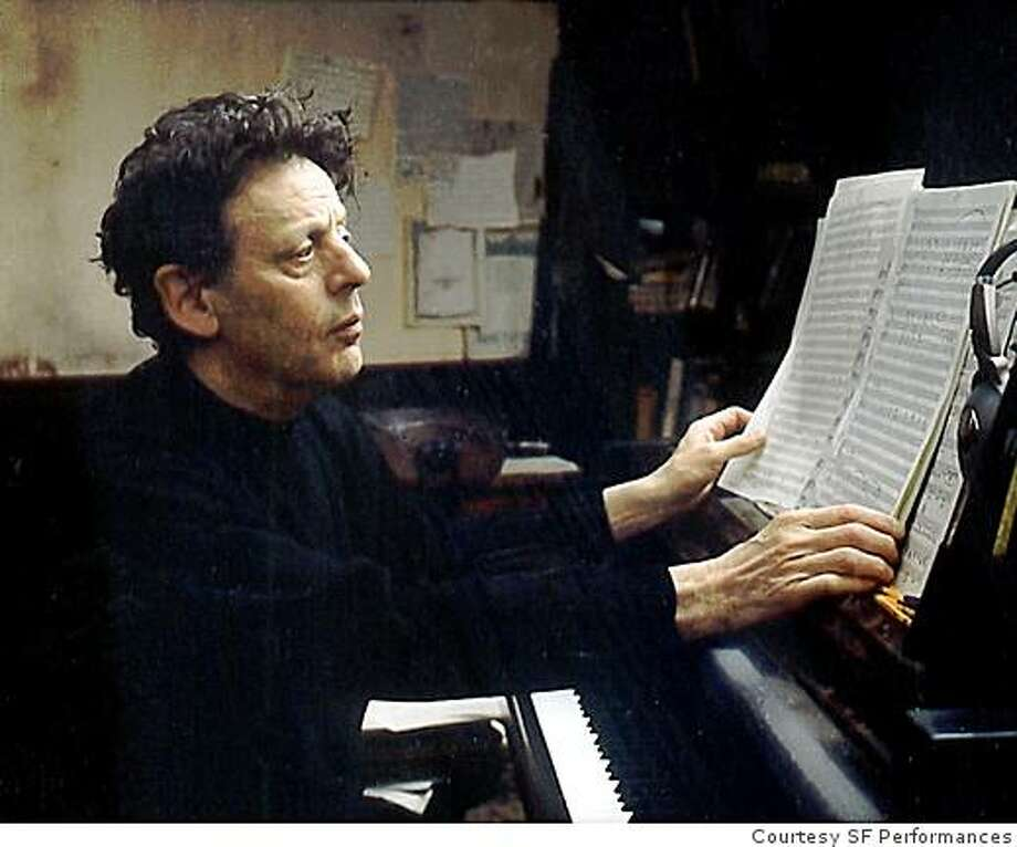 Composer Philip Glass Photo: Courtesy SF Performances