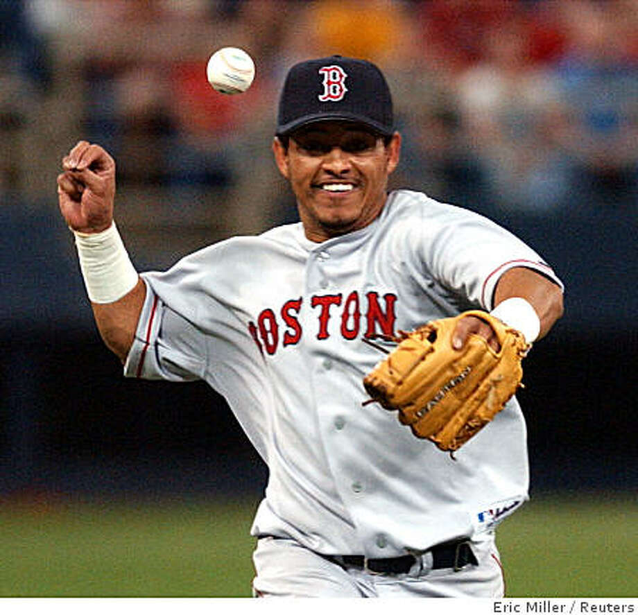 Orlando Cabrera  played shortstop for the Boston Red Sox in 2004. Photo: Eric Miller, Reuters