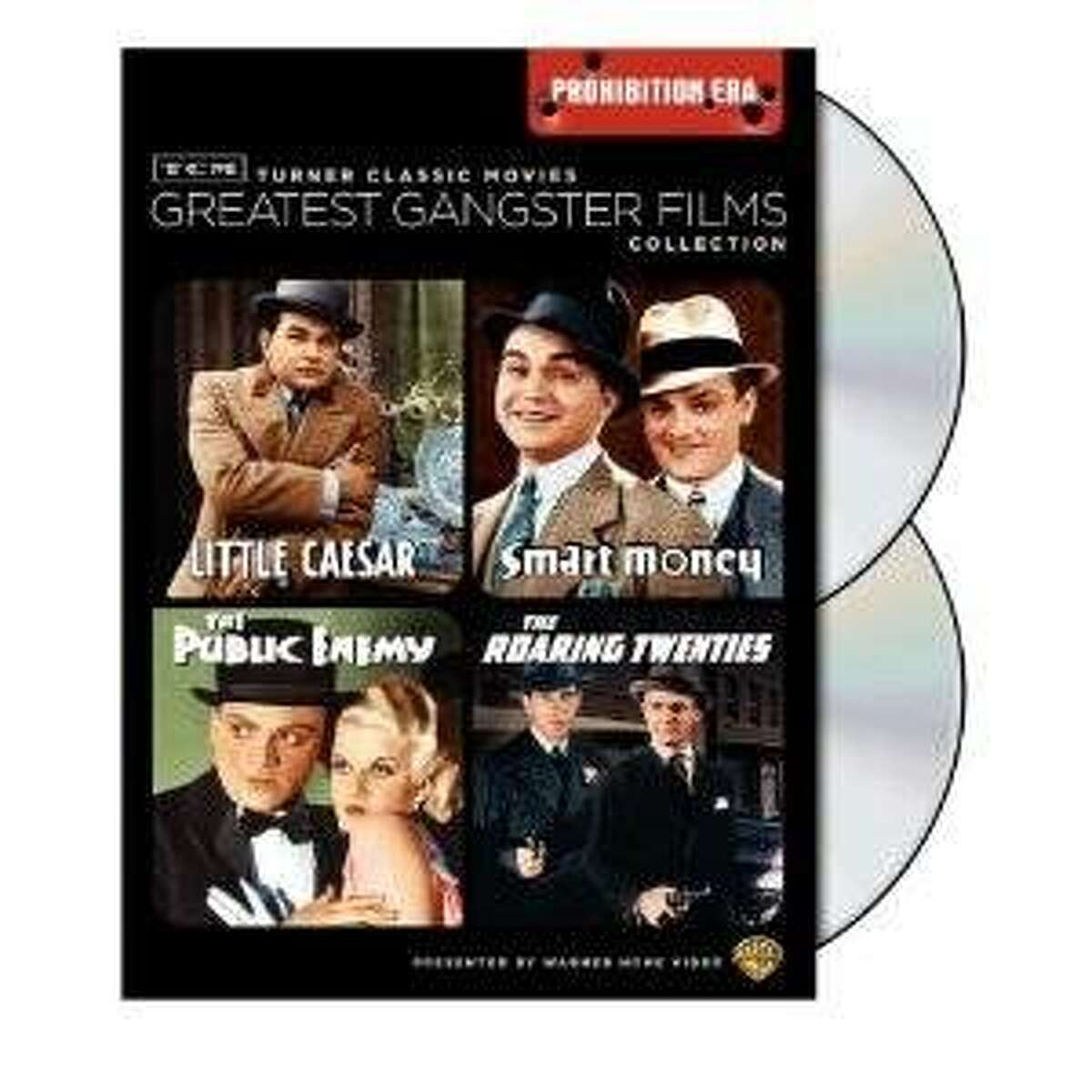 dvd cover GREATEST GANGSTER FILMS: PROHIBITION ERA